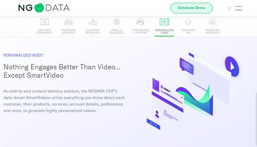 NGDATA CDP's SmartVideo