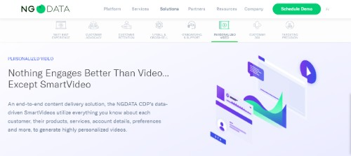 NGDATA CDP's SmatVideo