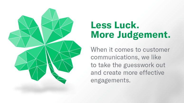 NGDATA Less Luck More Judgement