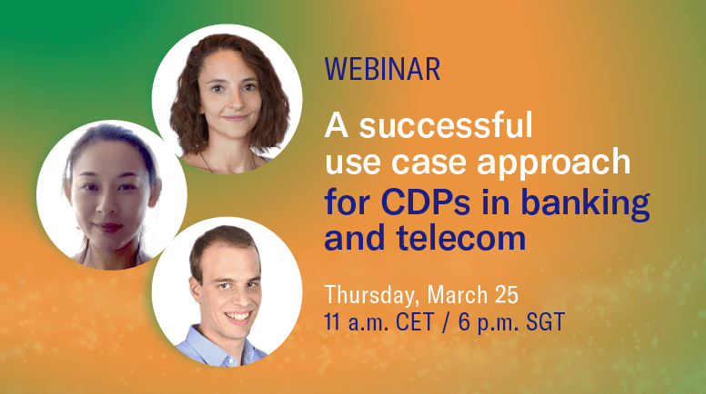 Webinar, succesful use case for CDPs